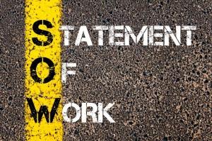 proper statement of work